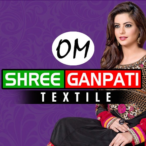 Om Shree Ganpati Textile Logo