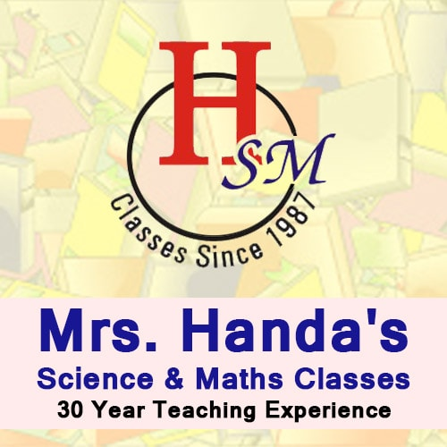 Mrs. Handa's Science & Maths Classes