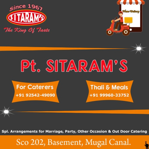 Pt. Sitaram's Thali Meals and Catering