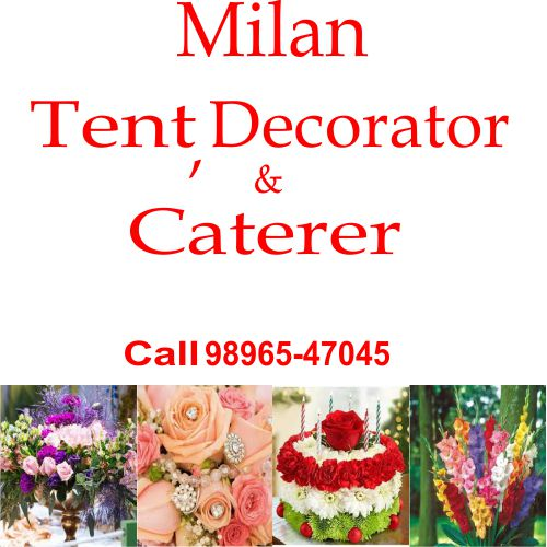 Milan Tent Decorator & Caterer Logo