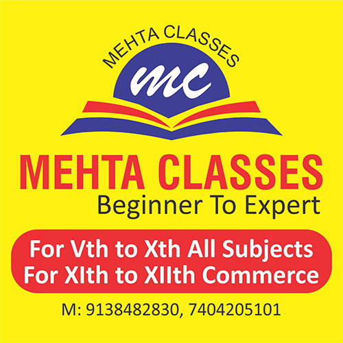 Mehta Classes Logo