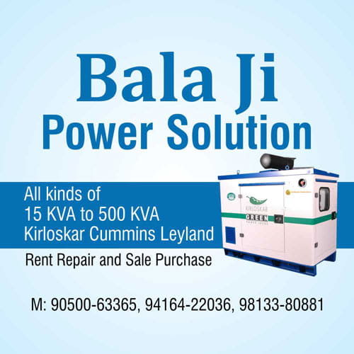 Bala ji Power Solution