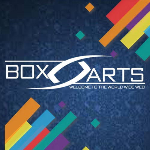BoXArts Web Design Studio Logo